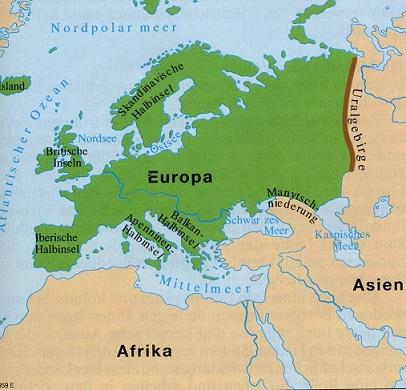 Grenze Zwischen Europa Und Asien Karte | goudenelftal